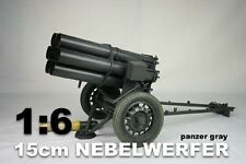 DID 1/6th Scale WWII Nebelwerfer Panzar Gray Made in Metal