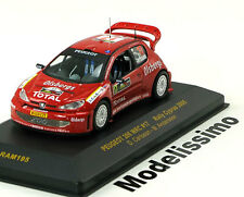 1:43 Ixo Peugeot 206 WRC #17, Rally Cyprus Carlsson/Andersson 2005