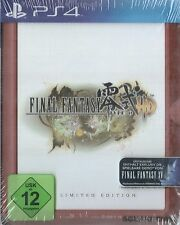 Ps4 jeu final fantasy type - 0 HD fr4me Limited Edition incl. FF xv 15 demo NEUF