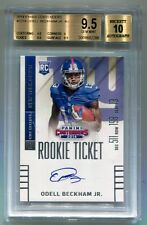 2014 PANINI CONTENDERS ODELL BECKHAM JR. ROOKIE TICKET AUTO BGS 9.5 F8692288