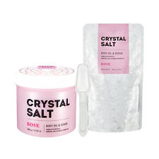 [Missha] Crystal Salt Body Oil & Scrub Rose