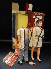 "1970s vintage Durham  KUNG FU action figure 8"" doll martial arts ninja TV toy !!"