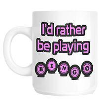Bingo Player Gift Mug Pink Print