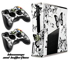 Skin Decal Wrap for Xbox 360 Slim Gaming Console & Controller Xbox360 Slim