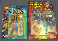 Marvel Comics Uncanny X-Men X-Force GENESIS & Thunder Punch WARPATH ToyBiz NIP