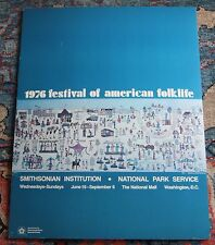 Rare 1976 American Folk Life Festival Smithsonian Institution on National Mall