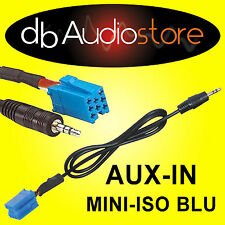 Cavo adattatore Aux In Out adapter ALFA ROMEO 147 x lettore mp3 ipod da SRC