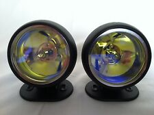 "Universal 3"" 12V H3 55W Round Fog Lights Driving Lamps  Truck Car SUV Jeep"
