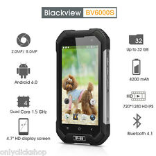 Unlocked Blackview BV6000S 4G HD Smartphone 2GB+16GB Android 6.0 Black UK