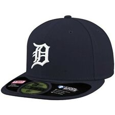 New Era Cap 59FIFTY Detroit Tigers Navy Size 6 7/8 New Era Fitted NWT