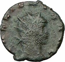 GALLIENUS son of Valerian I Ancient Roman Coin DOE STAG  i22545