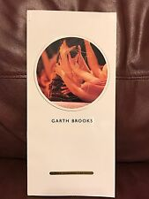 Garth Brooks Book Of Song Words & Pictures Etc.65 Pages Limited Ed Series 11x5
