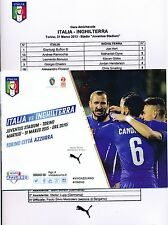 ITALY v England (Friendly Match @ Juventus Turin) 2015
