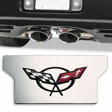 C5 97-04 Corvette Stainless Exhaust Plate Exclusive Large Premium Version