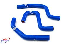 HONDA CR 85 1996-2007 HIGH PERFORMANCE SILICONE RADIATOR HOSES BLUE