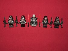LEGO Star Wars minifigures LOT Darth Malgus,4 Sith Troopers