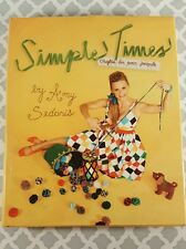 Simple Times : Crafts for Poor People by Amy Sedaris (2010, Hardcover)Ex Library