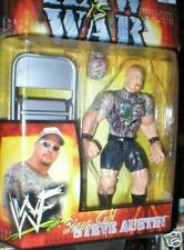 RAW IS WAR STONE COLD STEVE AUSTIN WITH CHAIR MOC