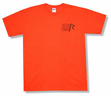 "RIHANNA ""LOCAL CREW ON ORANGE"" T-SHIRT LAST GIRL ON EARTH TOUR NEW OFFICIAL XL"
