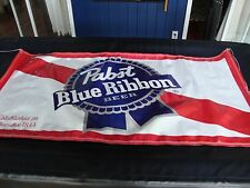 PABST BLUE RIBBON 6 foot X 3 foot  BANNER new PBR