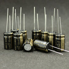 10 Pcs Japan ELNA 47uF/50V High-END RFS SILMIC II Series HIFI Audio Capacitor