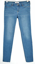NUOVO Hollister SUPER SKINNY Blu Low Rise STRETCH Jegging Jeans taglia 12 W30 L31