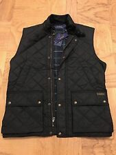 Brand New RALPH LAUREN POLO MENS BLACK QUILTED VEST ~ SIZE L ~ MSRP $225