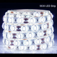 5M 300Leds 5630 Cool White Super Bright LED Strip SMD Light Waterproof 12V DC US