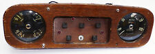 Armstrong Siddeley Instrument / Dash Panel with Smiths Speedometer Ammeter etc