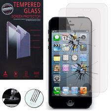 2 Films Verre Trempe Protecteur Protection Au Choix pour Apple iPhone 5/ 5S/ 5se
