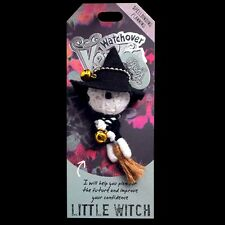Watchover Voodoo Doll 'Little Witch' Car Rear View Mirror Hanger, Keyring