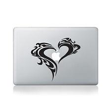 Tribal Corazón Vinilo calcomanía Para Macbook (13/15), ordenador portátil o Guitarra