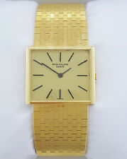 18k Yellow Gold Patek Philippe Reference 3549/1 3549 Calibre 175 Archives Papers
