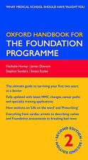Oxford Handbook for the Foundation Programme (Oxford Handbooks Series)-ExLibrary