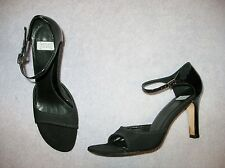 Women's STUNNING LEATHER ANKLE STRAP DRESS SANDALS PUMPS by ARTURO CHIANG Sz 9