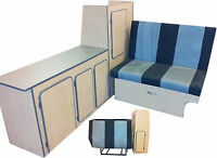 UNIVERSAL CAMPER VAN INTERIOR FURNITURE KIT INC ROCK AND ROLL BED SURF DAY