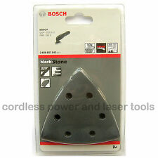 10 Bosch STONE Sanding Sheets Mixed Grit GOP 250 CE Multi Tool 2608607543