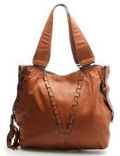Kooba Brown Leather Lace Up Shoulder Bag