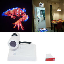 Funny 3D spiderman Room Door open LED logo projection projector welcome light