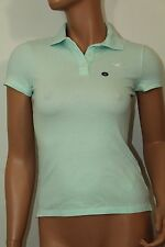Hollister Women´s Iconic Polo Shirt Medium NWT Color Ligth Green NWT Lightweight