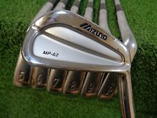 MIZUNO MP 62 4-PW IRON SET PROJECT X 5.5 FIRM FLEX STEEL USED RH MP-62 IRONS