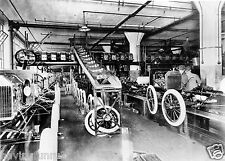 1914 Ford Highland Park Plant assembly line 8 x 10 Photograph