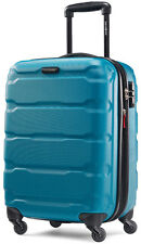 "Samsonite Omni 20"" Hardside Spinner Expandable Carry On Luggage - Caribbean Blue"