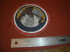WWII USAAF 100 FIGHTER SQ TUSKEGEE AIRMAN  332 FG  FLIGHT JACKET PATCH