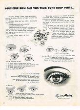 PUBLICITE ADVERTISING 044   1971   ELISABETH ARDEN   maquillage des yeux