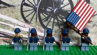 LEGO Civil War Union Army 54th Massachusetts NEW 100% Genuine LEGO READ PLZ