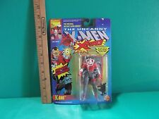 """The Uncanny X-Men X-Force Kane 5""""in Figure w/Snap-Back Living Hand Toy Biz 1992"""