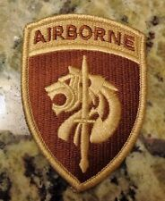 ARMY PATCH, U.S.SPECIAL OPERATIONS COMMAND AFRICA, DESERT