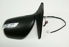 Door Mirror Black Electric L.E.D LH For Toyota Landcruiser KDJ120 3.0D D4D 02 On