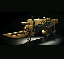Gears of War 3 gow gow3 Gold Retro Lancer Replica *NEW!!* gun